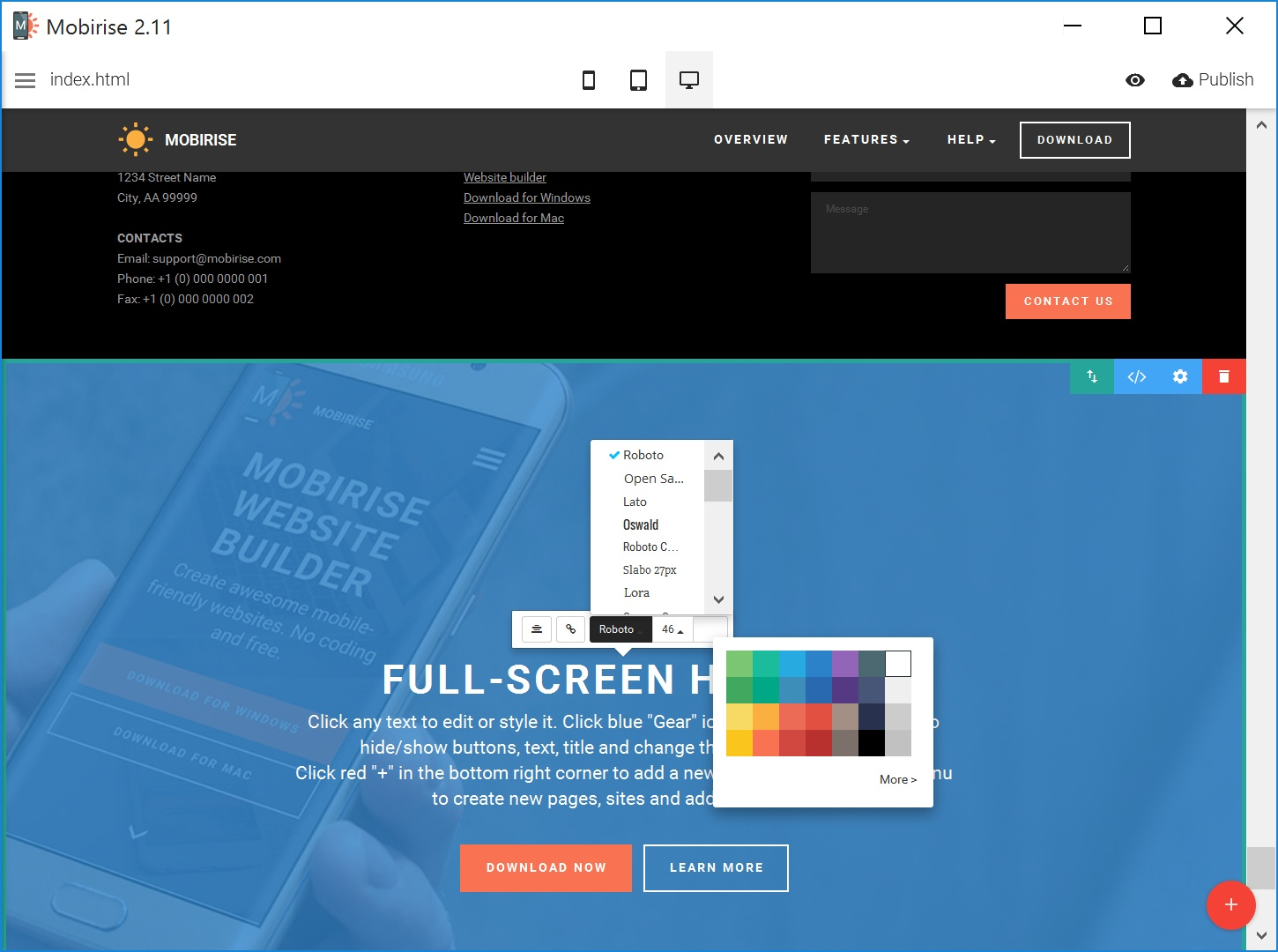 Best Bootstrap Web Page  Builder